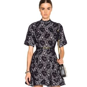 Rachel Comey Strata Blue Lace Dress